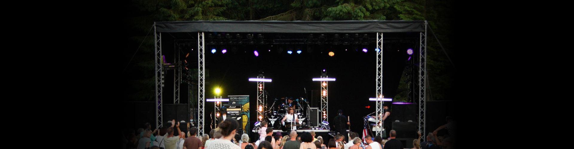 live stage hire birmingham